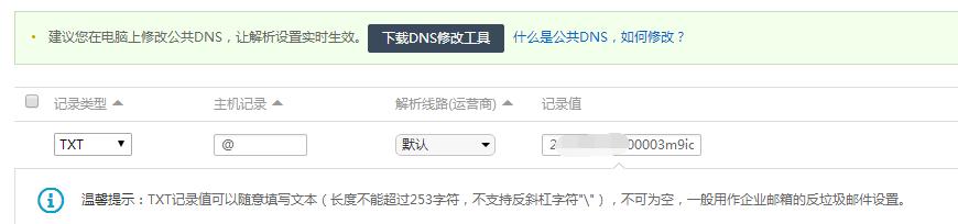 SSL验证DNS